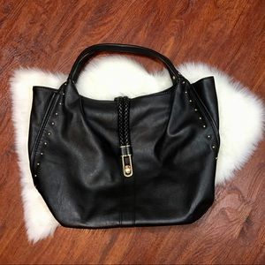 Handbags - Black faux leather bag